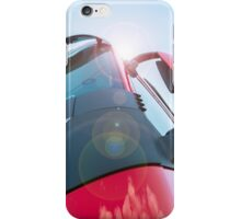 Large truck details against blue sky iPhone Case/Skin