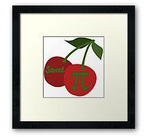 Sweet Cherry Pi Framed Print