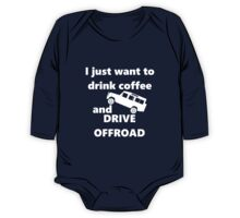 Drink Coffee - Offroad - Defender 110 One Piece - Long Sleeve