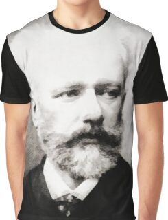 Tchaikovsky, Composer Graphic T-Shirt