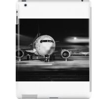 airplane front close-up iPad Case/Skin