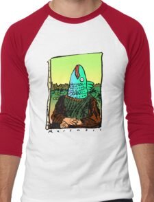 Enigmatic Fish Men's Baseball ¾ T-Shirt