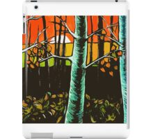 Orange Sky Through the Trees iPad Case/Skin