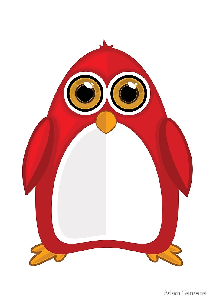Red Penguin by Adamzworld