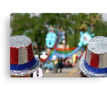 4th July hats Canvas Print