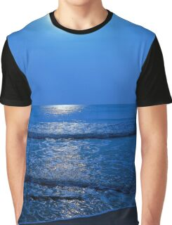 Daytona sunrise in blue Graphic T-Shirt