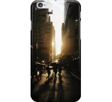 NYC Sunset iPhone Case/Skin