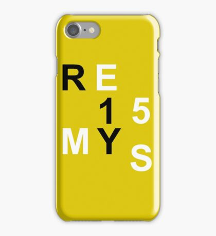 Casual Fashion Letters Numbers iPhone Case/Skin