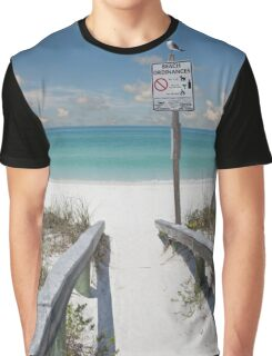 Fort DeSoto Beach Florida Graphic T-Shirt