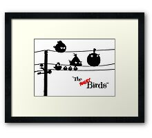 Hitchcock´s The angry Birds Framed Print