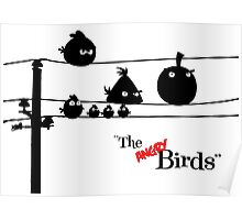 Hitchcock´s The angry Birds Poster