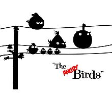 Hitchcock´s The angry Birds Photographic Print