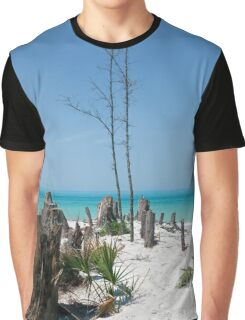 Fort DeSoto on the Gulf Graphic T-Shirt