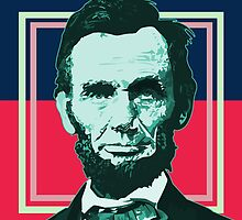 Abraham Lincoln - Retro by Adamzworld