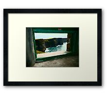 Cliffs of Moher Co Clare Ireland Framed Print