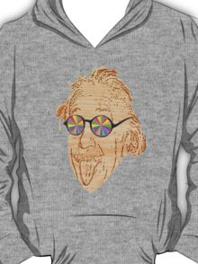 wooden Albert Einstein T-Shirt