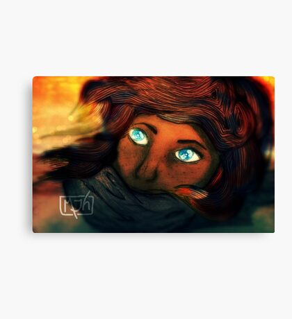 Windcast Canvas Print