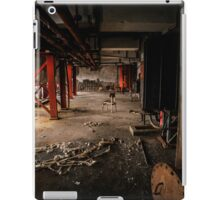 Industrial interior with chair iPad Case/Skin
