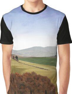 Tuscany landscape Graphic T-Shirt