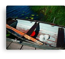 Waiting for the Fisherman Canvas Print