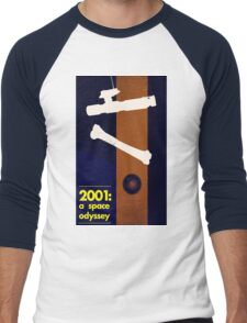 Science fiction movie poster Men's Baseball ¾ T-Shirt