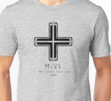 ICONIC ARCHITECTS-MIES VAN DER ROHE Unisex T-Shirt