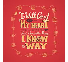 I AM Photographic Print