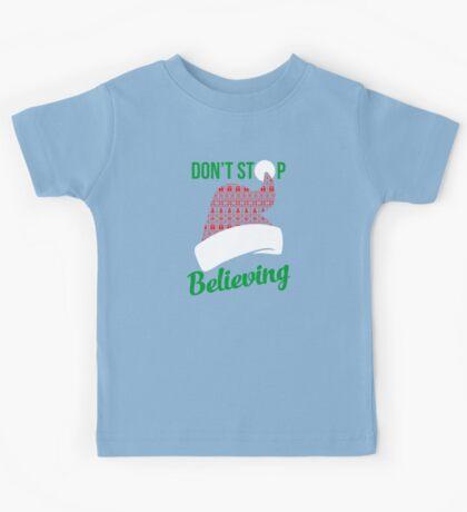 Believe in Christmas Kids Tee