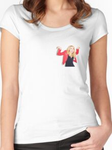 Kate McKinnon #4 Women's Fitted Scoop T-Shirt