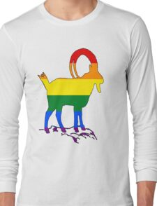 Rainbow Ibex Long Sleeve T-Shirt