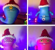 Christmas Uglydolls! Sticker