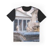 Amore at Pantheon in Rome Italy Graphic T-Shirt