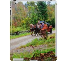 Transportation in the Modern Age iPad Case/Skin
