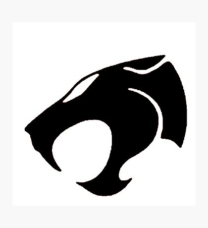 Logo Black Lion Photographic Print