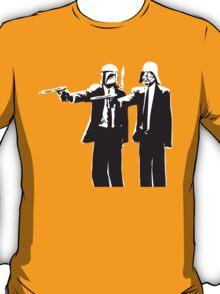Pulp Fiction-Darth & Boba Hit Men T-Shirt