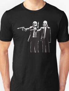 Pulp Fiction-Darth & Boba Hit Men T-Shirt