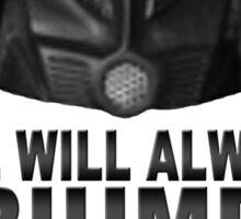 Good is Dumb - Dark Helmet Sticker