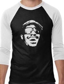 stencil Stevie Wonder Men's Baseball ¾ T-Shirt