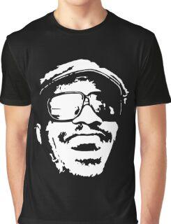 stencil Stevie Wonder Graphic T-Shirt