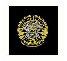 Frankie's Fiendish Chop Shop Art Print