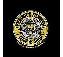 Frankie's Fiendish Chop Shop Photographic Print