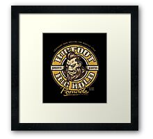 Big Foot Pomade Framed Print