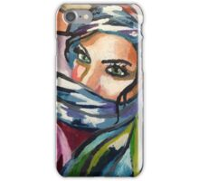 Middle Eastern Beauty  iPhone Case/Skin