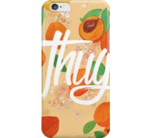 Apricot Thug iPhone Case/Skin