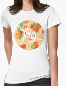 Apricot Thug Womens Fitted T-Shirt