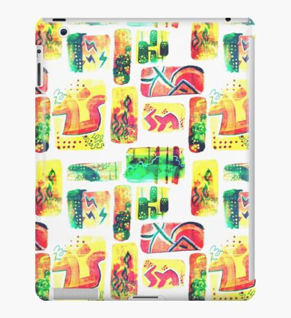 Graffiti Abstract  iPad Case/Skin
