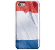 Waving Flag of France From 2014 Winter Olympics iPhone Case/Skin