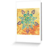 Snowflake Mandala Greeting Card