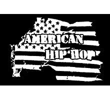 American Hip Hop (White) Photographic Print