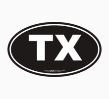 Texas TX Euro Oval  by USAswagg2
